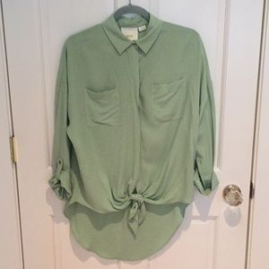 Maeve by Anthropologie Gorgeous Blouse